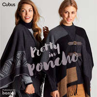 Pretty in poncho
