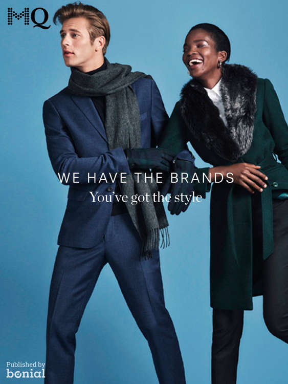 Erbjudanden från MQ, We have the brands - you've have the style