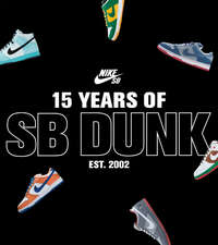 15 year of SB dunk
