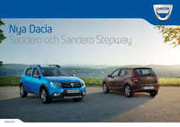 dacia sandero broschyr