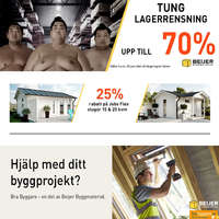 TUNG LAGERRENSNING!